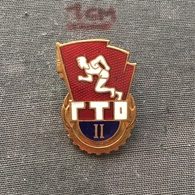 Badge (Pin) ZN006749 - Sport Soviet Union (USSR SSSR CCCP) Ready For Labour And Defense GTO - Badges