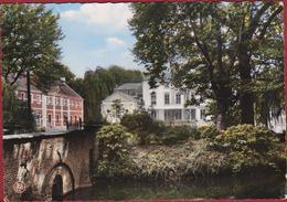 MOERZEKE Grote Kaart Hamme Retraitehuis O.-L.-Vr. OLV Middelares Brug Over De Wal - Hamme
