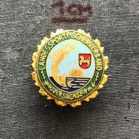 Badge (Pin) ZN006938 - Fishing (Fischerei / Ribolov) Germany Niedersachsen Landessportfischerverband Federation - Badges