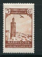 MAROC ESPAGNOL- Poste Aérienne Y&T N°1- Neuf Avec Charnière * - Marocco Spagnolo