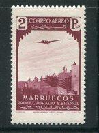 MAROC ESPAGNOL- Poste Aérienne Y&T N°9- Neuf Avec Charnière * - Marocco Spagnolo