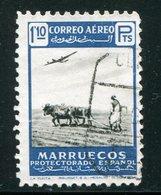 MAROC ESPAGNOL- Poste Aérienne Y&T N°84- Oblitéré - Marocco Spagnolo