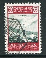 MAROC ESPAGNOL- Poste Aérienne Y&T N°83- Oblitéré - Marocco Spagnolo