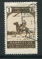 MAROC ESPAGNOL- Poste Aérienne Y&T N°7- Oblitéré - Marocco Spagnolo