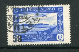 MAROC ESPAGNOL- Poste Aérienne Y&T N°90- Oblitéré - Marocco Spagnolo