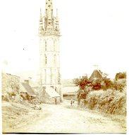 PLOUVORN **** ENTREE DU BOURG(clocher Entier Sur La Photo)  **** PHOTO ANCIENNE ***** - France