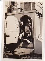 Foto Kriegsmarine - Deutsche Matrosen - Vorpostenboot - 1940 - 8,5*5,5cm (34928) - Guerra, Militari