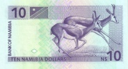NAMIBIA P.  1a 10 D 1993 UNC - Namibia