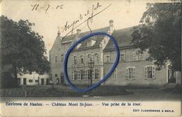 Environs De Haelen : HALEN :   Chateau Mont St Jean  ( Geschreven 1908 Met Zegel ) - België