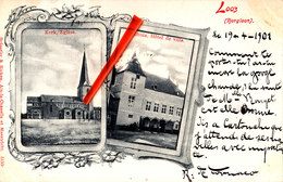 LOOZ (Borglon) - Kerk, Eglise - Stadhuis - Hôtel De Ville - Borgloon