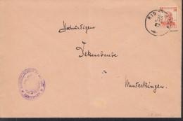 WÜRTTEMBERG  242 EF, Geprüft, Gestempelt: Ristissen 25.JAN 1917 - Wurttemberg