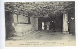 CPA Paris 14 Paris Souterrain Les Catacombes L'Ossuaire Saint Étienne Des Grés - Arrondissement: 14