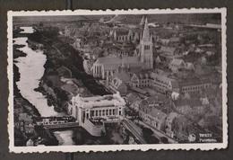 Aerial Panorama Of Ypres, Belgium - Real Photo - Used 1937 - Belgium