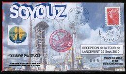 ESPACE - 2009/09 - Programme SOYOUZ – Réception De La Tour De Lancement - CSG - 1 Document - Europa