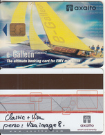 FRANCE - E-Galleon, Axalto Banking Card, Sample - Geldkarten (Ablauf Min. 10 Jahre)