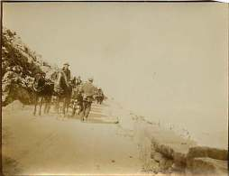 280518 - PHOTO 1905 - MONTENEGRO CETINJE Sur La Route Attelage - Montenegro