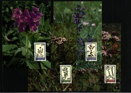 Liechtenstein 1993 Medicinal Plants Maximumcards - Heilpflanzen