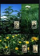 Liechtenstein 1995 Medicinal Plants Maximumcards - Heilpflanzen