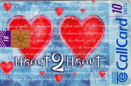 TARJETA TELEFONICA DE IRLANDA, HEART 2 HEART. 1202 (040) - Irlanda