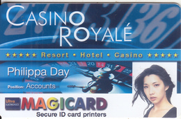 FRANCE - Casino Royale, MagiCard Sample - Tarjetas De Casino