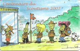 P&T Luxembourg - Telekaart - Centenaire Du Scoutisme 2007 - Luxembourg