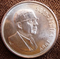 África Do Sul (Suid-Afrika)  - 1 Rand - 1969 - KM 80.2 - T.E. Donges - Südafrika