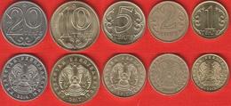 Kazakhstan Set Of 5 Coins: 1-20 Tenge 2005-2017 - Kazakhstan