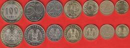 Kazakhstan Set Of 7 Coins: 1 - 100 Tenge 2004-2017 - Kazakhstan