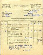 77 MEAUX - SOCIÉTÉ FRANÇAISE D'ALIMENTATION - Facture De 1951 - Meaux