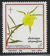Botswana, Scott # 389 Used Christmas, Flowers,1986 - Botswana (1966-...)