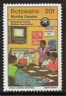 Botswana, Scott # 606 Used Family Welfare, 1996 - Botswana (1966-...)