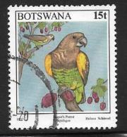 Botswana, Scott # 622 Used Parrot, 1997 - Botswana (1966-...)