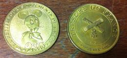 59 MOUVAUX PETITE SOURIS N°2 MÉDAILLE ARTHUS BERTRAND 2012 JETON MEDALS TOKEN COINS - Arthus Bertrand