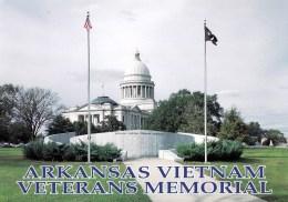 Arkansas Vietnam Veterans Memorial, Little Rock, Arkansas, USA Unused - Little Rock