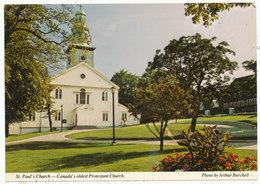 St. Paul's Church - Canada's Oldest Protestant Church [Halifax, N.S.] - Halifax