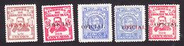 Honduras, Scott #O48-O51, O49, Mint Hinged/Used, Famous Men Overprinted, Issued 1915 - Honduras