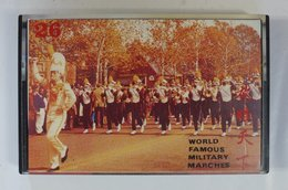 Cassette Audio JPN : World Famous Military Marches 26 ( MP-2026 ) - Audio Tapes
