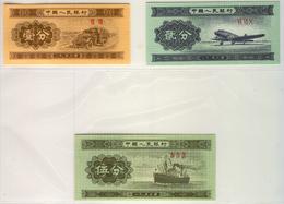 CHINA, PEOPLE'S REPUBLIC 860-862 1953 1-25 Fen UNC - China