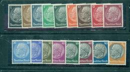 Deutsches Reich, Hindenburg  Nr. 512 - 528 Postfrisch ** - Ungebraucht