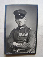Ww1 Weltkrieg Flieger Pilote Allemand Carte Photo Oberleutnant  Immelmann 1 - War 1914-18