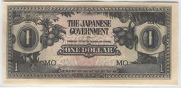 MALAYA Japanese Occupation 1942-1945 M5 1 Dollar UNC - Malaysia