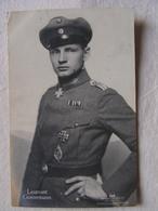 Ww1 Weltkrieg Kampf Flieger Pilote Avion Aviation Soldat Allemand Carte Photo Leutnant Heinrich Gontermann  11 - Weltkrieg 1914-18
