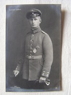 Ww1 Weltkrieg Kampf Flieger Pilote Avion Aviation Soldat Allemand Carte Photo Leutnant Leffers 14 - Guerre 1914-18