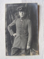 Ww1 Weltkrieg Kampf Flieger Pilote Avion Aviation Soldat Allemand Carte Photo Hauptmann Boelcke 16 - War 1914-18