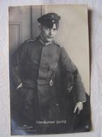 Ww1 Weltkrieg Kampf Flieger Pilote Avion Aviation Soldat Allemand Carte Photo Oberleutnant Gerlich 19 - War 1914-18