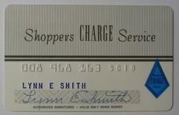 USA - Shoppers CHARGR Service - SC18 - Signed - Used - Geldkarten (Ablauf Min. 10 Jahre)