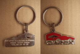 Porte-Clefs 384, Automobiles Carex - ASF Evry - Porte-clefs