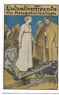 LUDENDORFFSPENDE FÜR KRIEGSBESCHADIGTE CPA 2 SCANS - War 1914-18