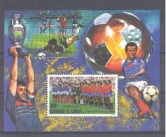 Djibouti  Michel #  Block 106   **   EM Fussball     1984 - Djibouti (1977-...)