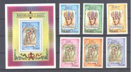 Haiti  Michel #   1488 - 94   **  Indianen - Haïti